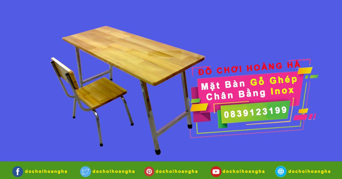 Bộ bàn ghế học sinh cho trẻ em bé mầm non mẫu giáo