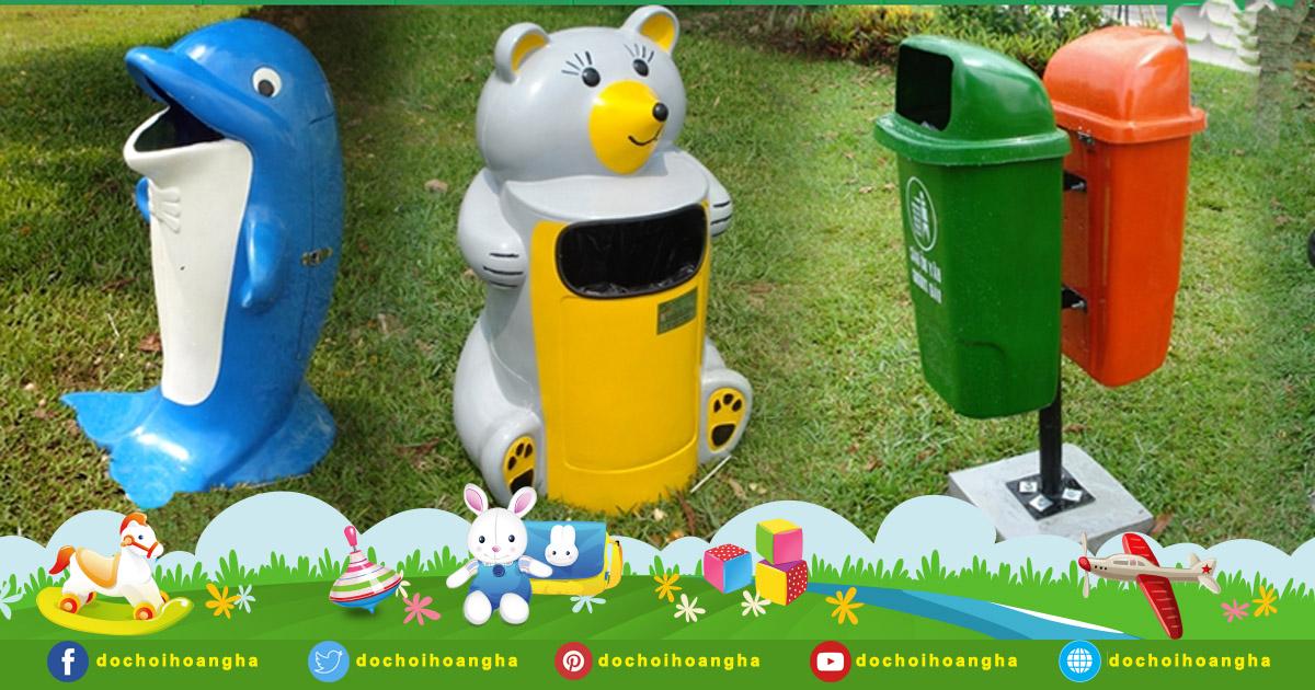 Đặc điểm nổi bật của thùng rác composite Chim Cánh Cụt