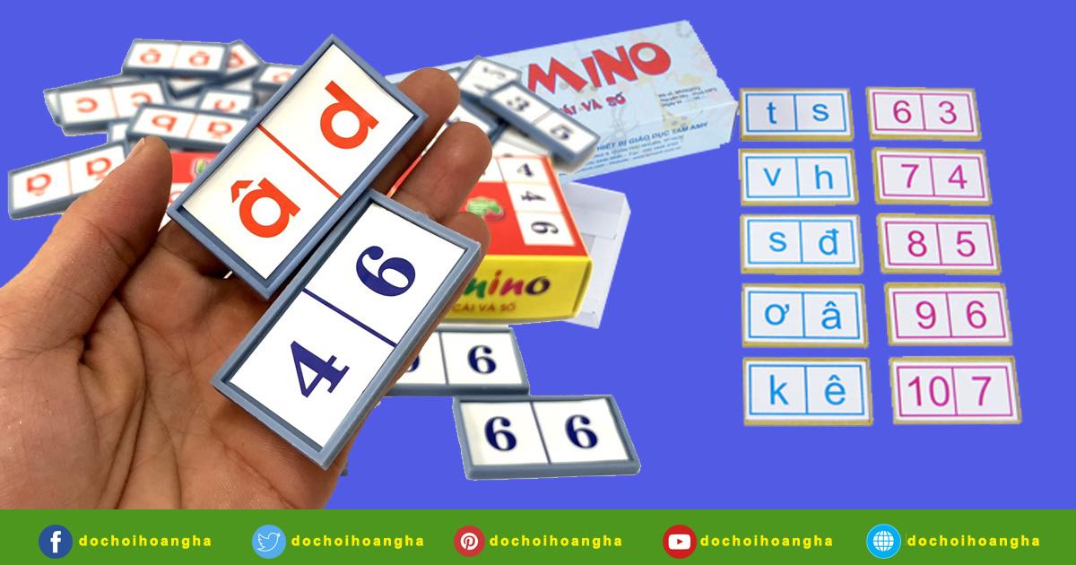 Shopee Bộ Đồ Chơi Domino Cho Bé Học Chữ Cái Và Số