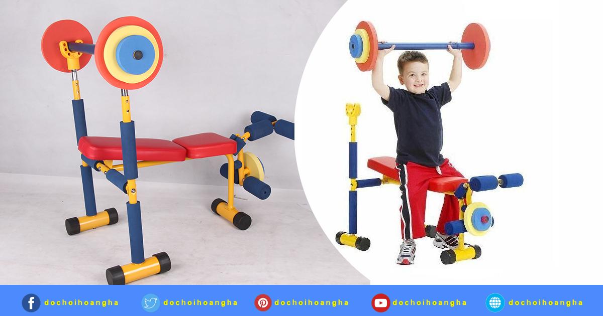 Thiết bị tập Gym trẻ em - Máy tập thể dục thể thao cho bé mầm non