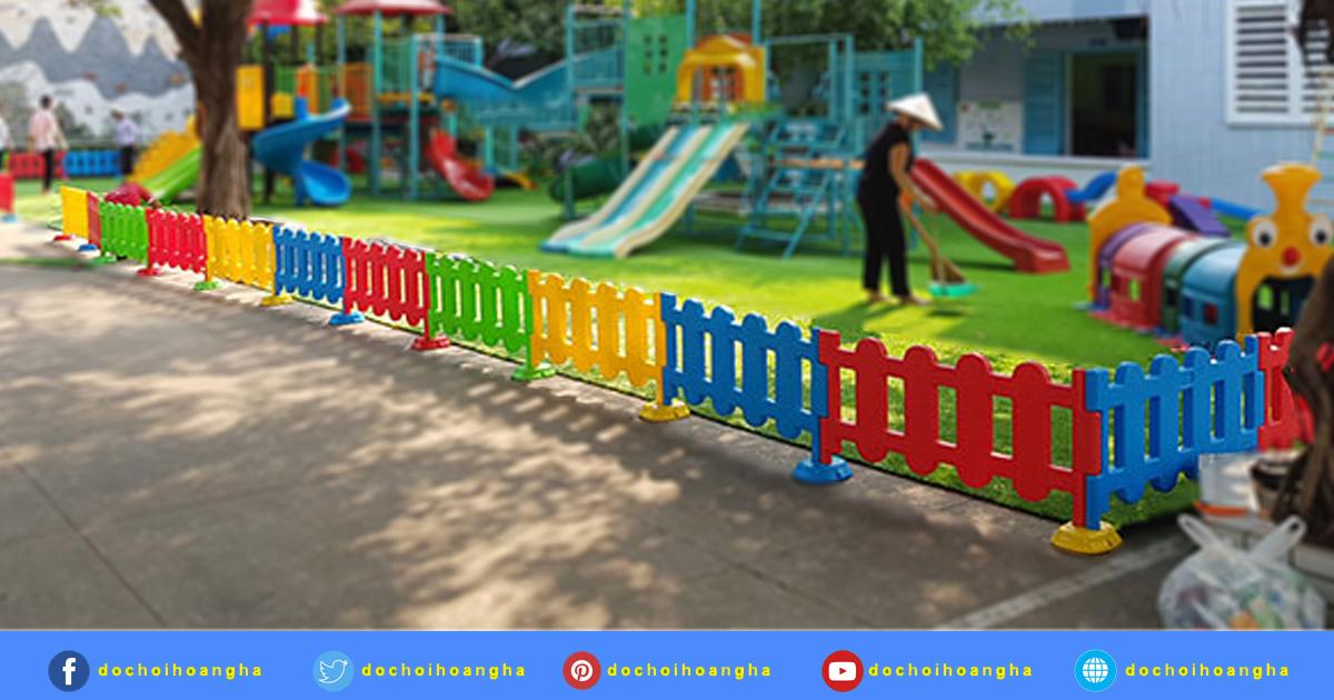 Thông tin chi tiết về hàng rào nhựa trẻ em