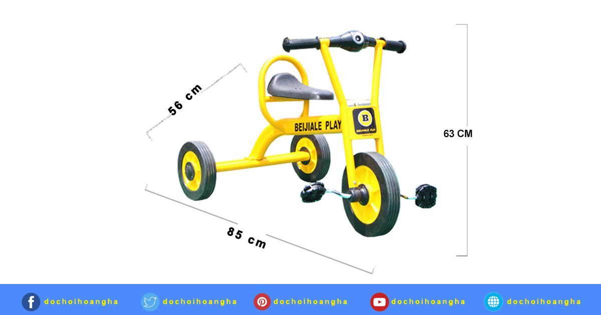 Xe đạp trẻ em l Xe đạp 3 bánh cho bé từ 2 tuổi nhập khẩu