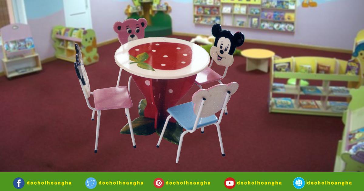 Mẫu bàn ghế thư viện dành cho trường học – Nội thất phòng thư viện