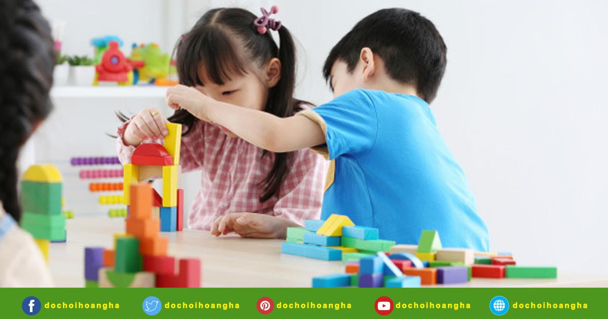 Những món đồ chơi học tập cho trẻ mầm non mà bé thường yêu thích