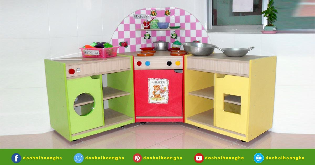 bộ đồ chơi nhà bếp bằng gỗ cho bé - đồ chơi nhà bếp gỗ