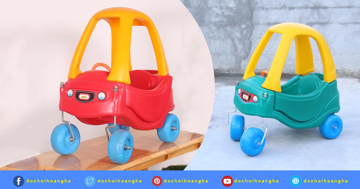 mẫu xe chòi chân giá rẻ cho bé từ 1-6 tuổi