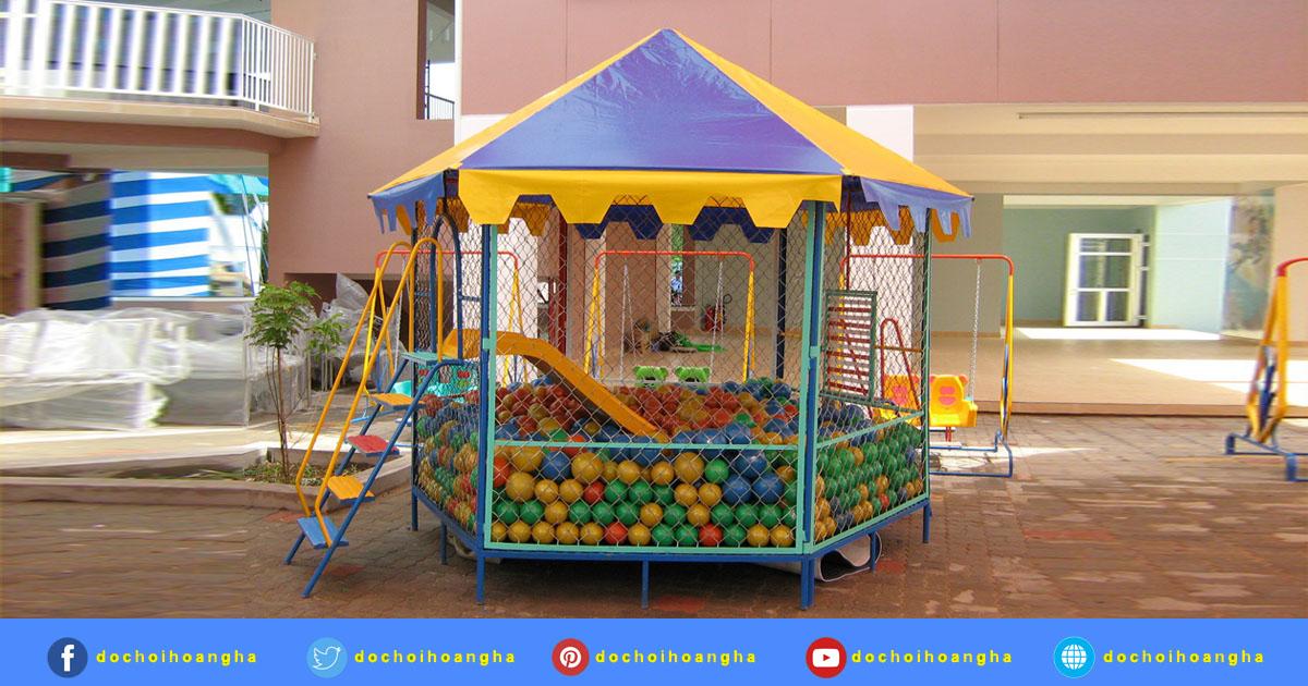 Báo giá nhà banh khu vui chơi trẻ em trong nhà