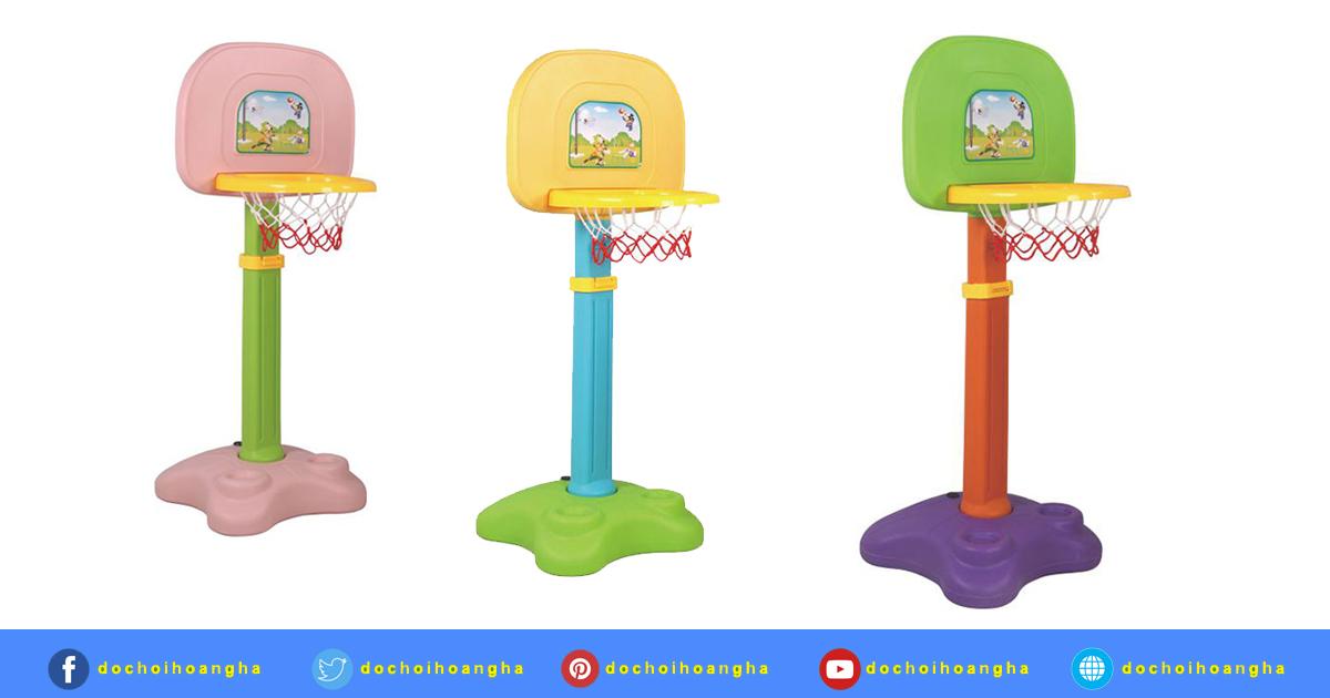 Trụ bóng rổ cho trẻ em chính hãng được thiết kế nhỏ gọn