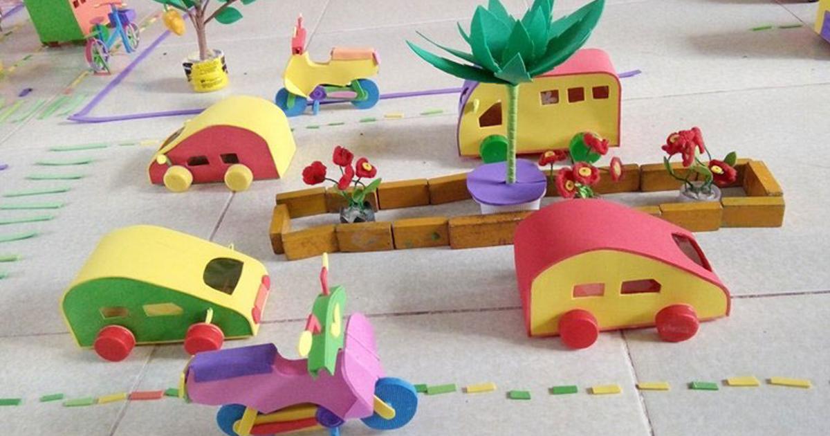 Ô tô (chủ đề: một số phương tiện giao thông)
