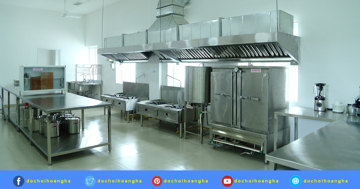 Tiêu chuẩn bếp ăn một chiều cho trường mầm non