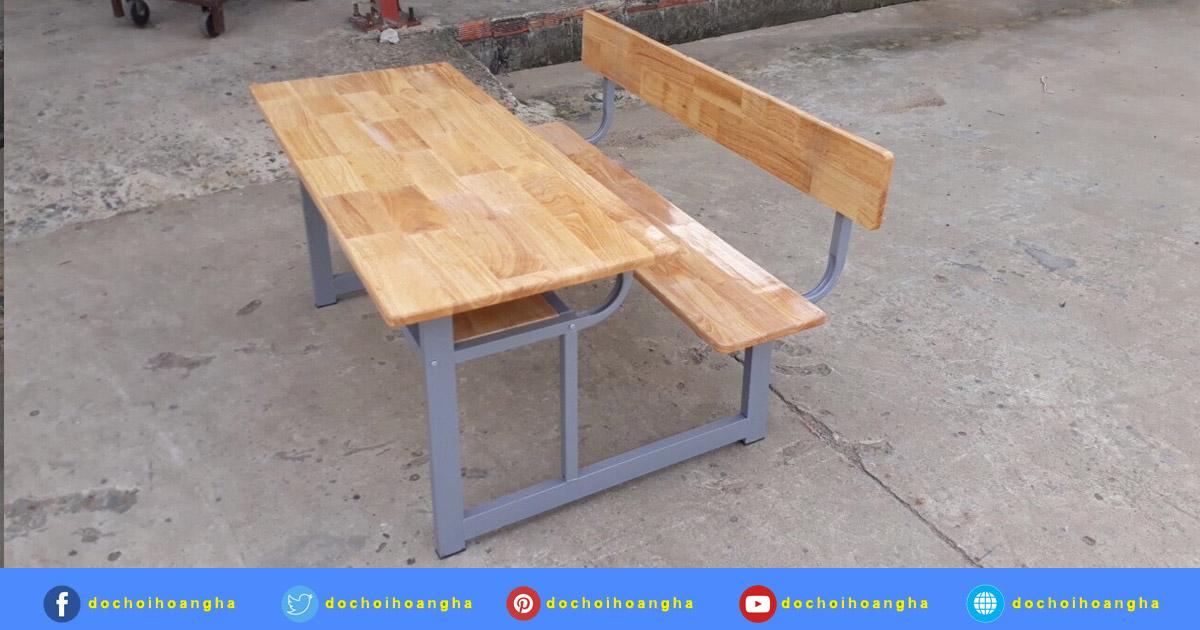 Tóm lại bàn ghế gỗ ghép cao su được lựa chọn làm bàn ghế trường học vì những ưu điểm nổi trội sau đây