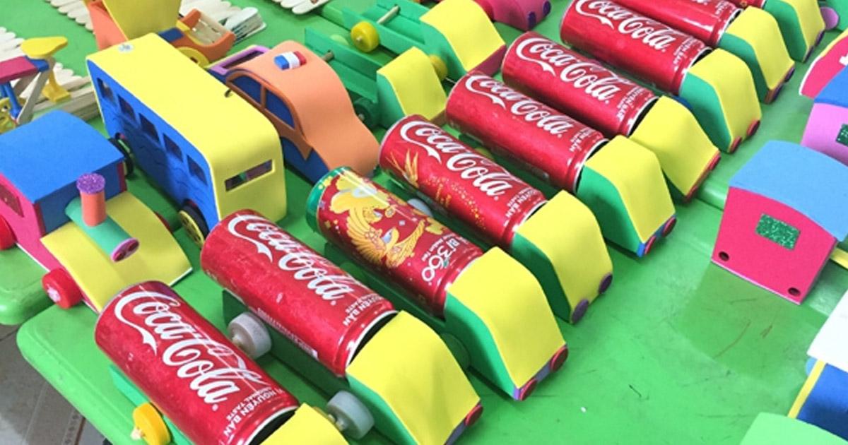 Hướng dẫn cách làm đồ dùng đồ chơi theo chủ đề phương tiện giao thông
