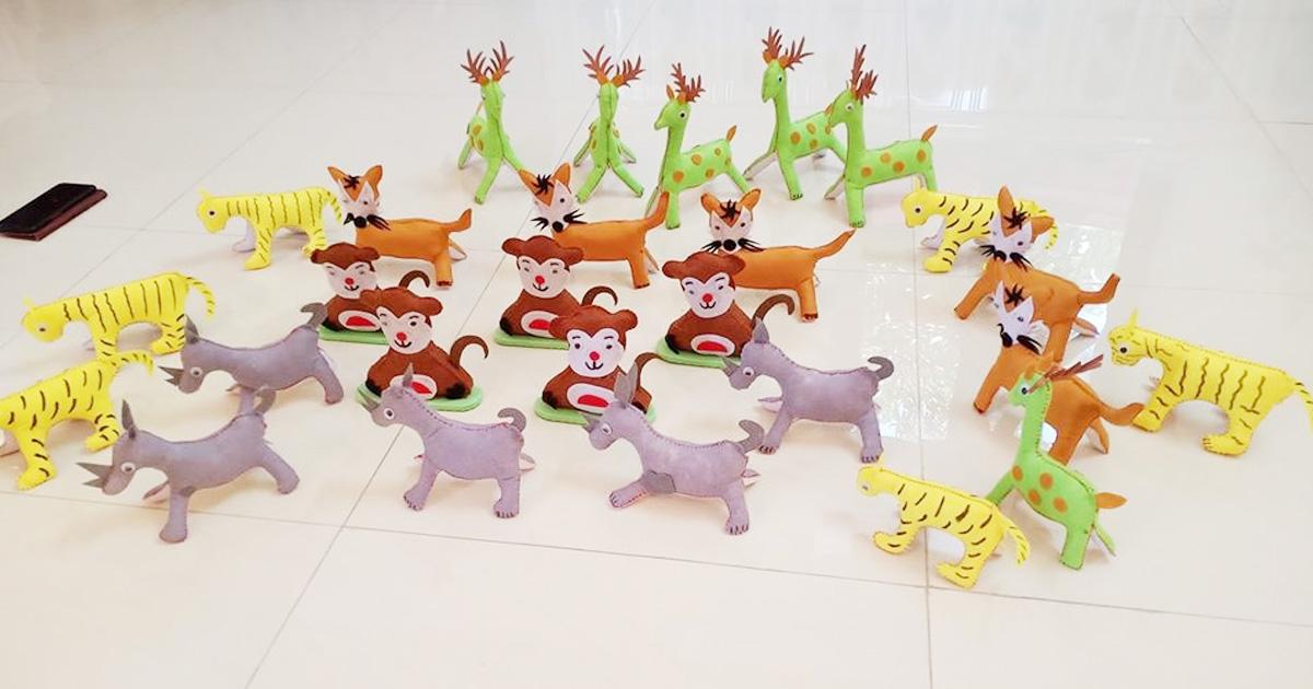 Làm đồ dùng đồ chơi theo chủ đề động vật