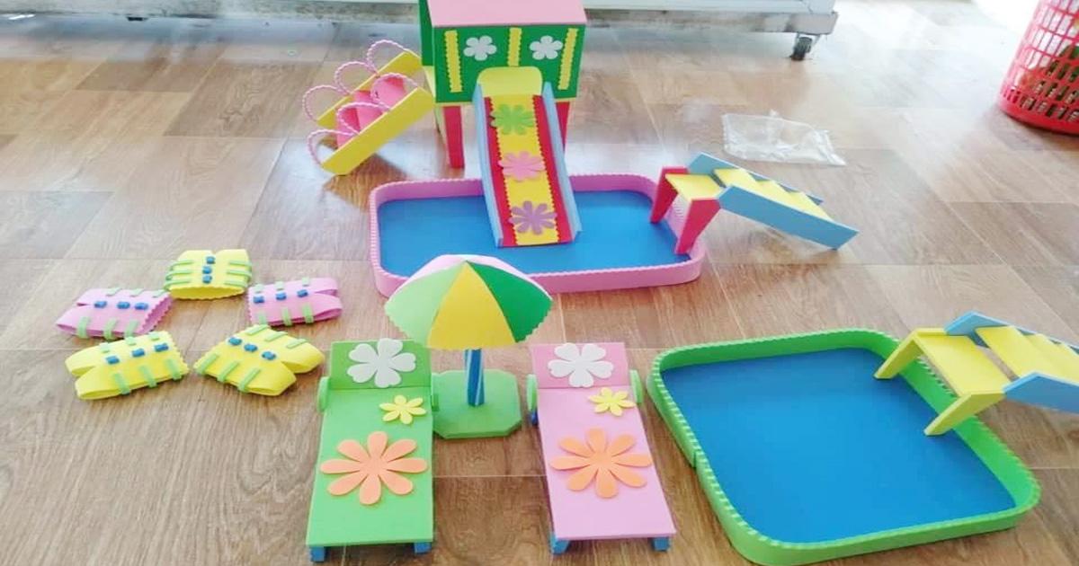 Làm đồ dùng đồ chơi sáng tạo chủ điểm nước và hiện tượng tự nhiên