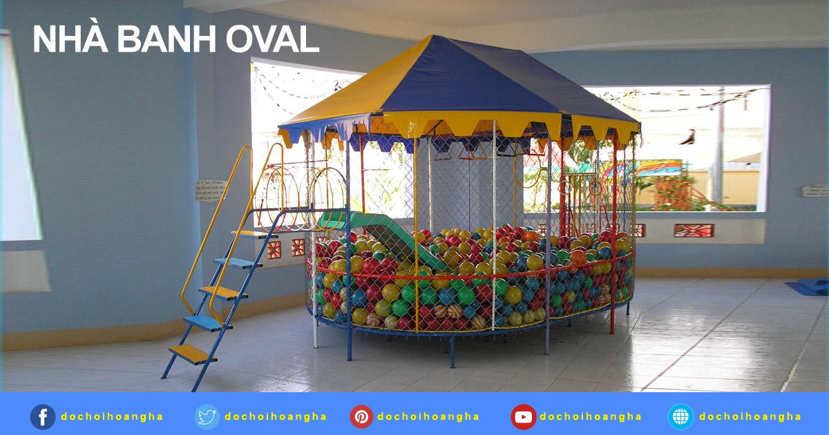 nhà banh oval