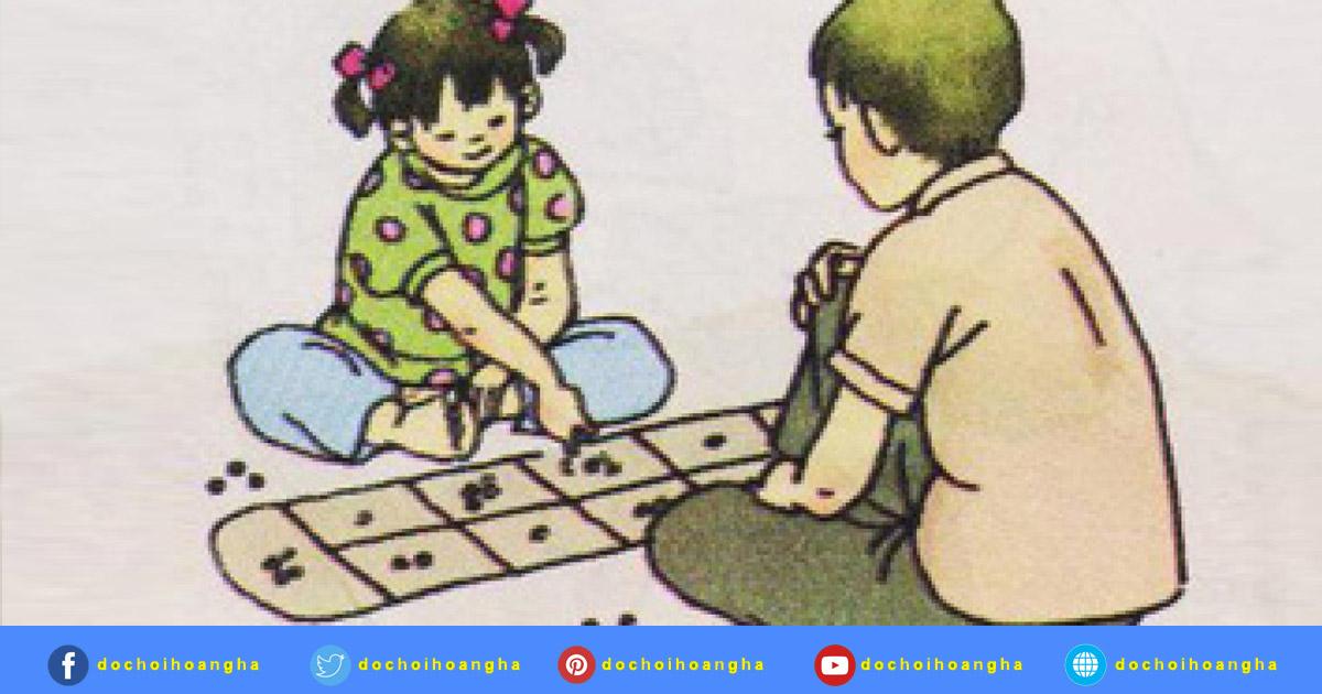 Trò chơi Ô ăn quan - trò chơi toán học cho trẻ mầm non