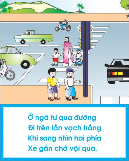 Bài tuyên truyền an toàn giao thông cho trẻ mầm non