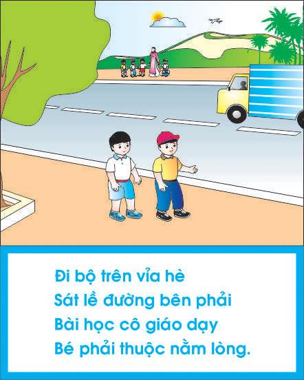 Bảng biểu dành cho trẻ em học tập ở các trường mầm non