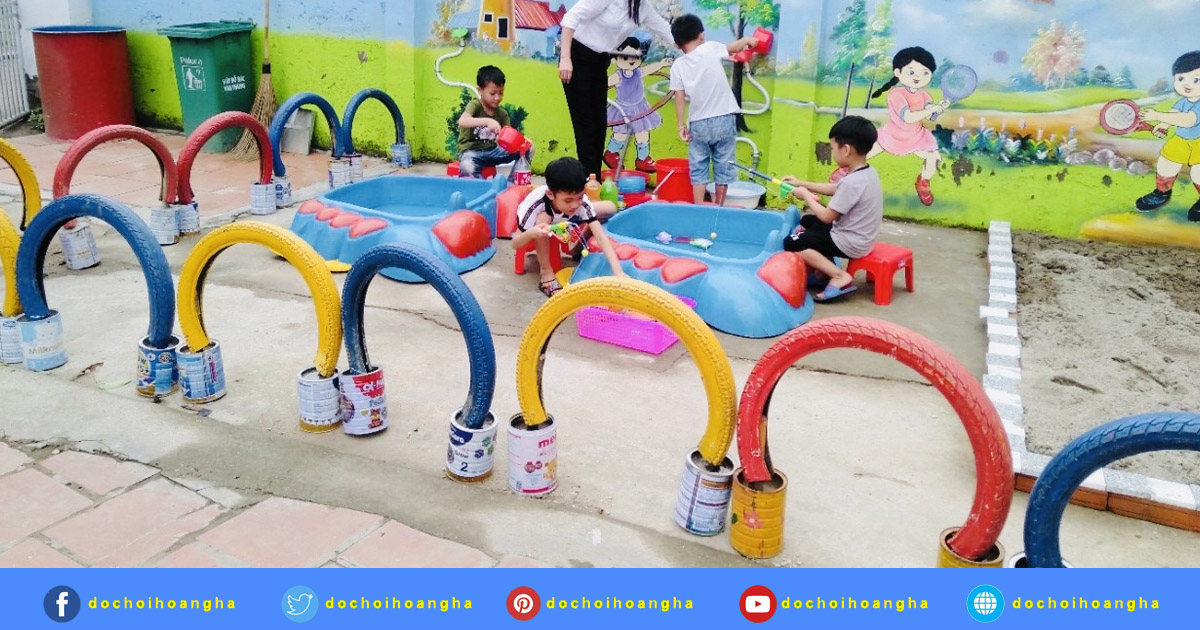 Giáo viên là cầu nối giúp trẻ học bằng chơi, chơi bằng học