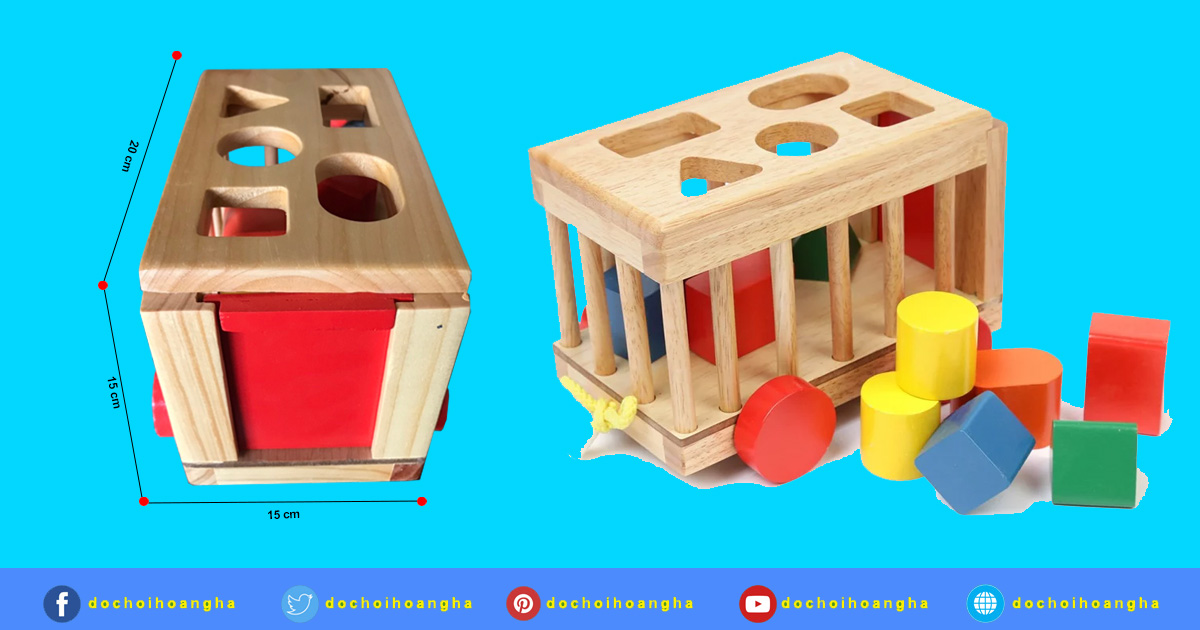 Đồ chơi cho bé gái 1 tuổi: Mô Hình Vietoys Xe Cũi