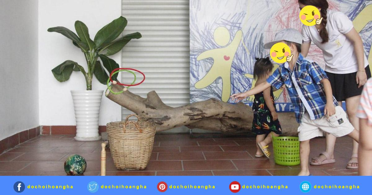 Đặc điểm nổi bật của đồ chơi ném vòng vào cột cho bé