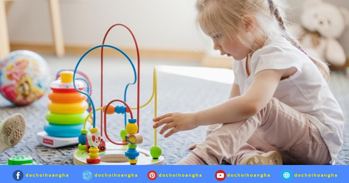 Giúp trẻ thông minh hơn với đồ chơi giáo dục