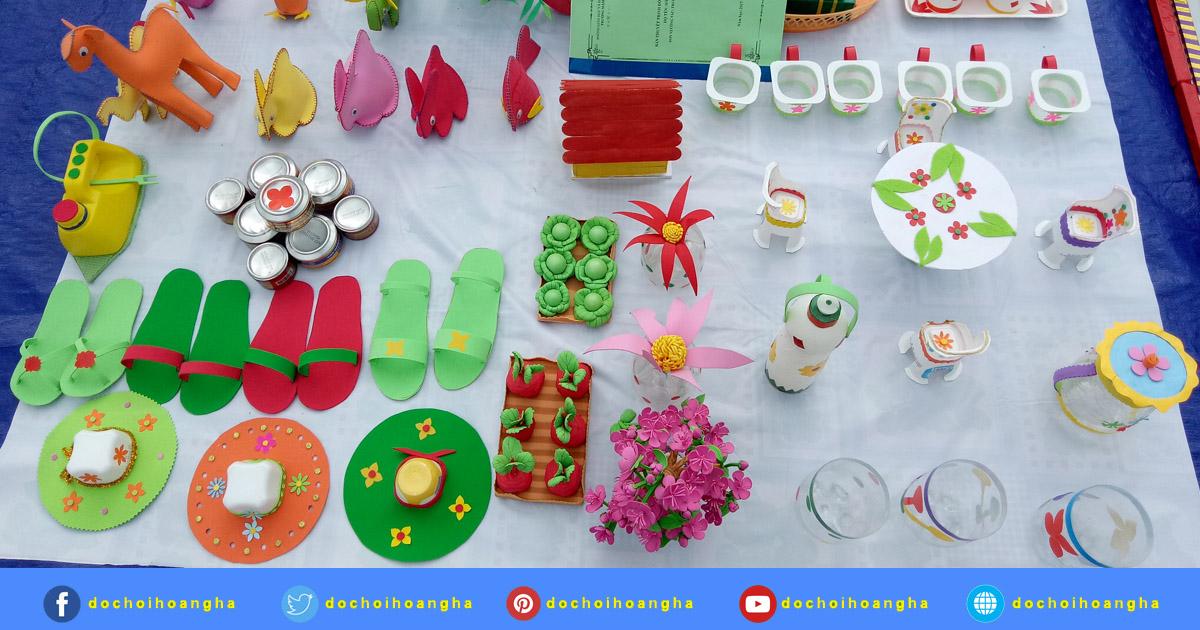 Hội thi sáng tạo đồ dùng đồ chơi năm học 2017 - 2018