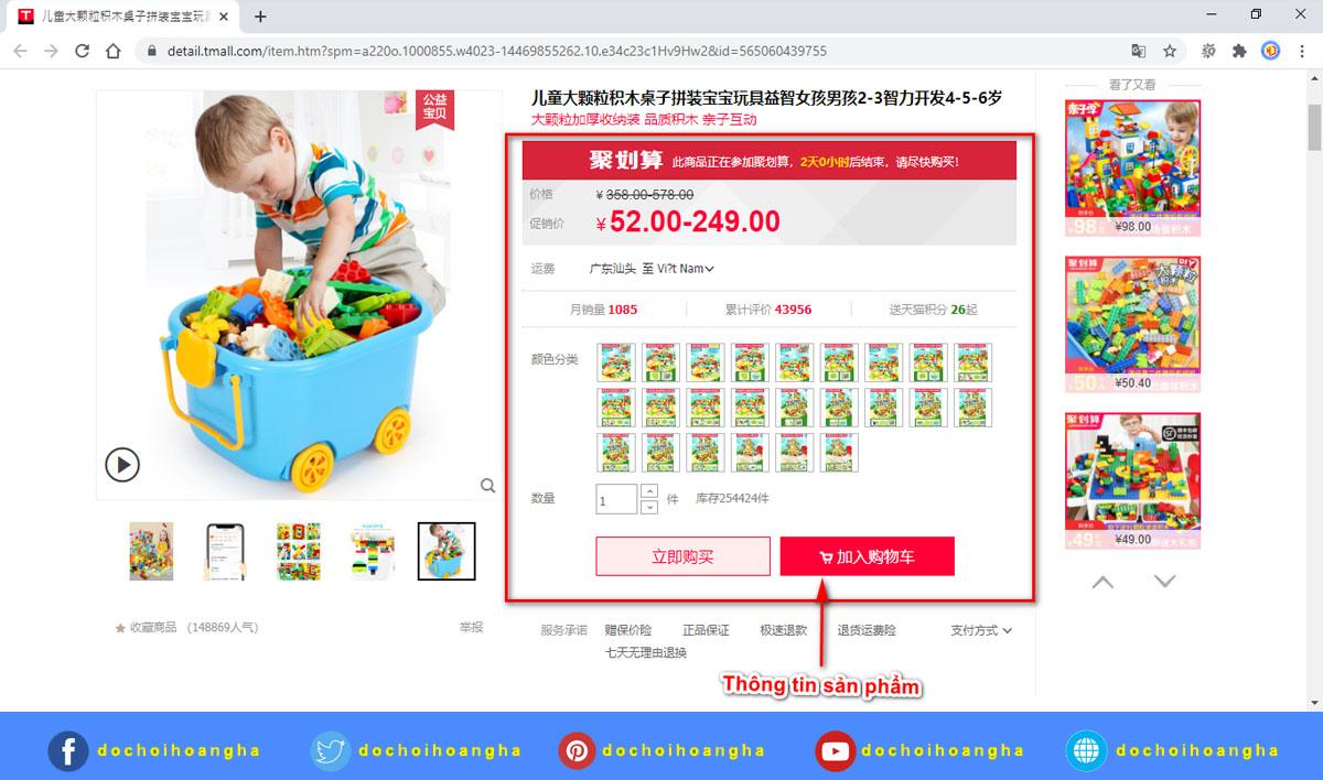 Bán buôn đồ chơi trẻ em Trung Quốc