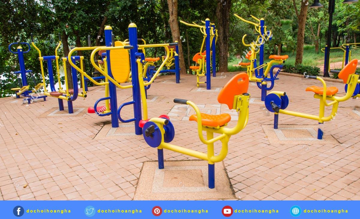 Máy tập thể dục công đồng được rất nhiều người yêu thích và sử dụng