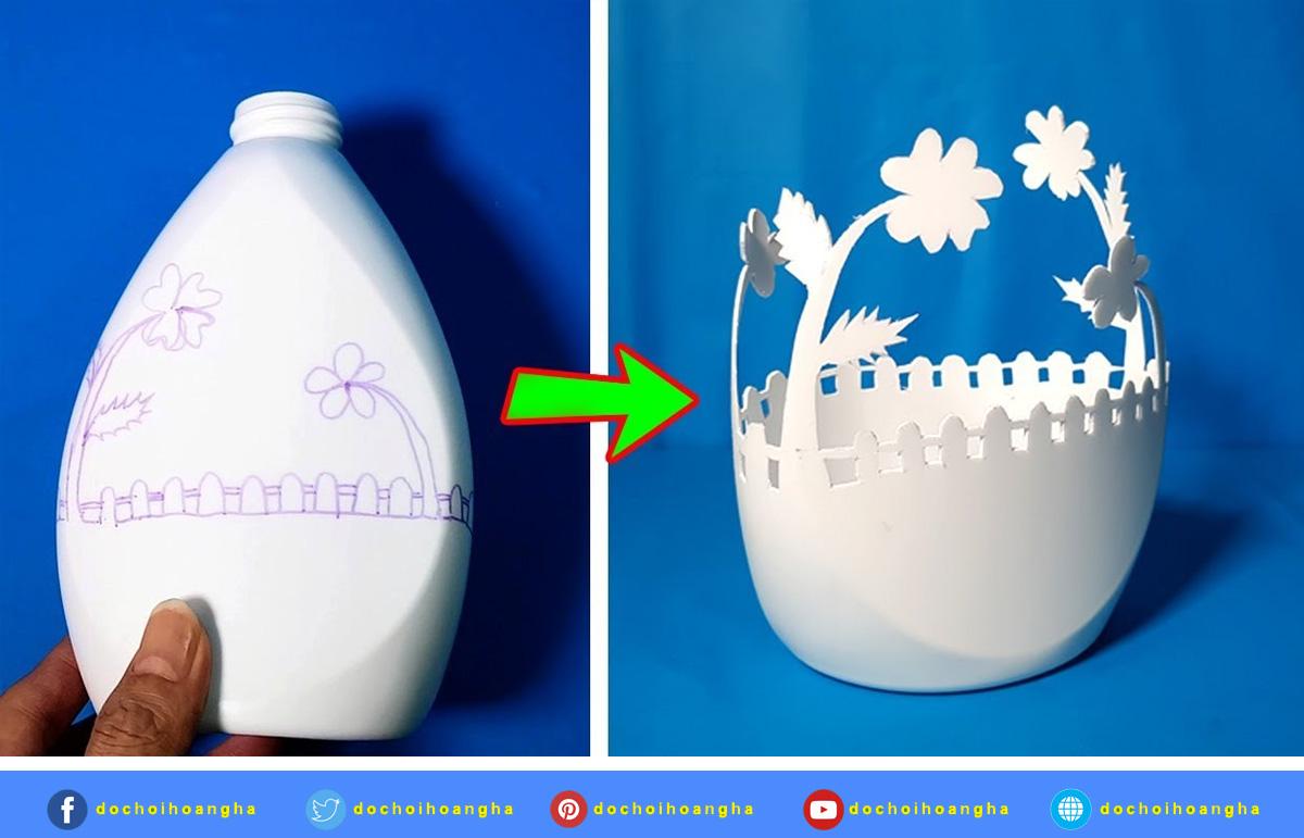 Một số sản phẩm được làm từ các nguyên vật liệu phế thải