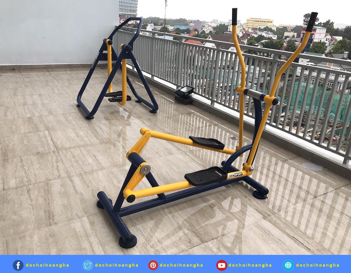 Dụng cụ thể thao ngoài trời và máy tập thể dục cho công viên
