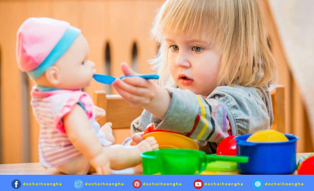Phát triển ngôn ngữ cho trẻ thông qua trò chơi học tập