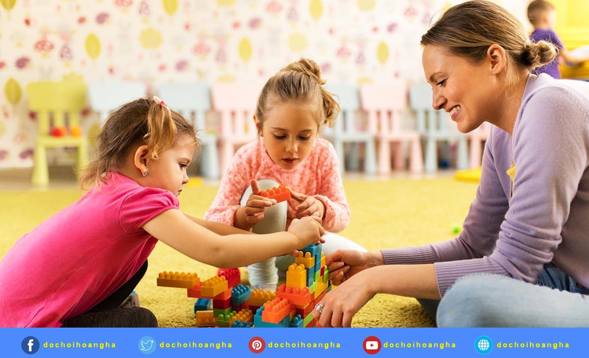 Phát triển ngôn ngữ cho trẻ thông qua trò chơi sáng tạo