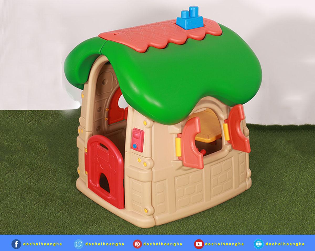 Phong Cách châu âu Trẻ Em Chơi Nhà trẻ em nhựa chơi nhà