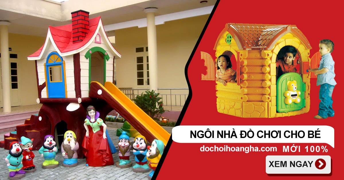 Mua ngôi nhà đồ chơi cho bé ở đâu giá rẻ
