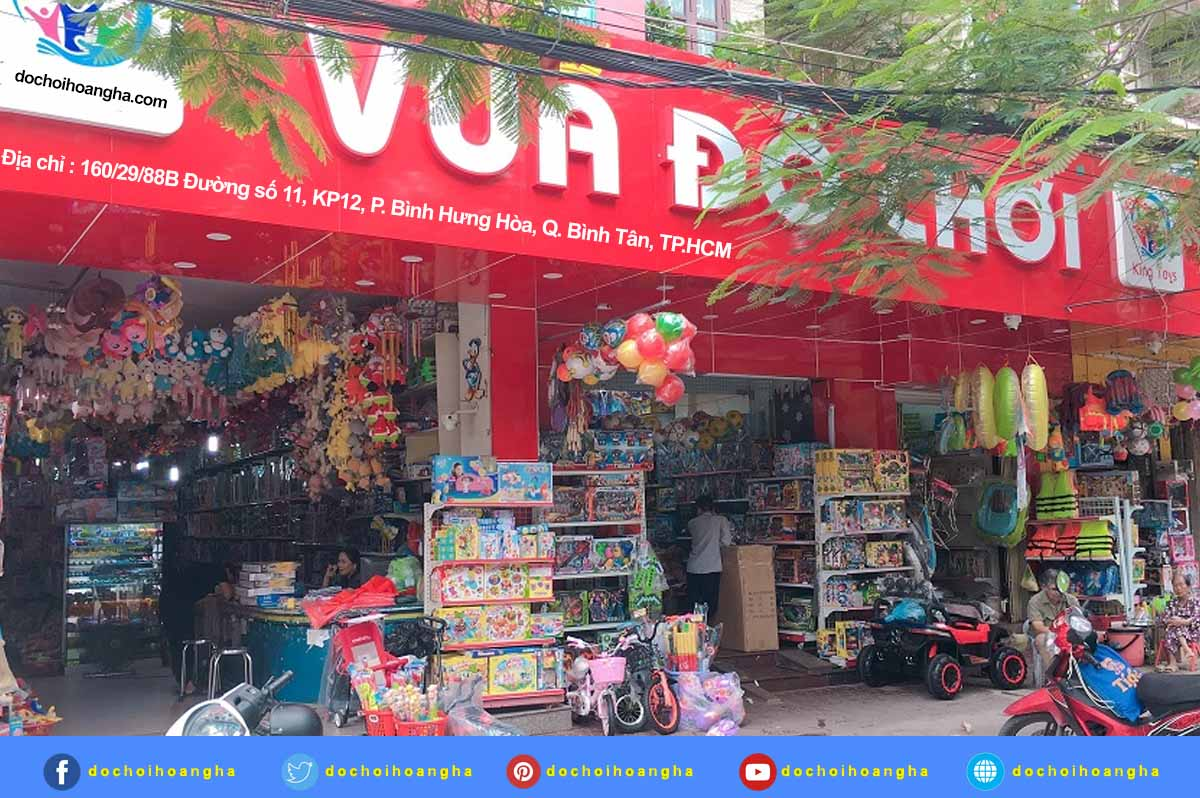 Nhập hàng bán đồ chơi trẻ em giá sỉ tại các chợ đầu mối