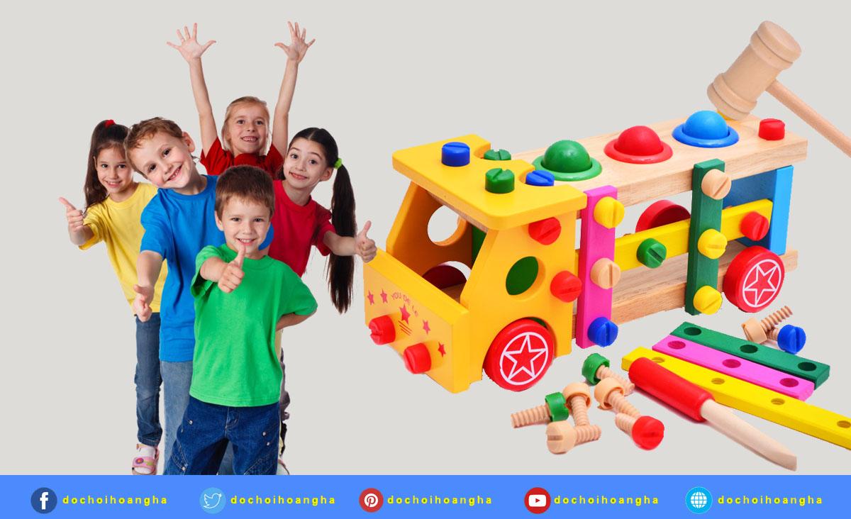Những lưu ý khi lựa chọn cũng như bảo quản đồ chơi giáo dục cho bé