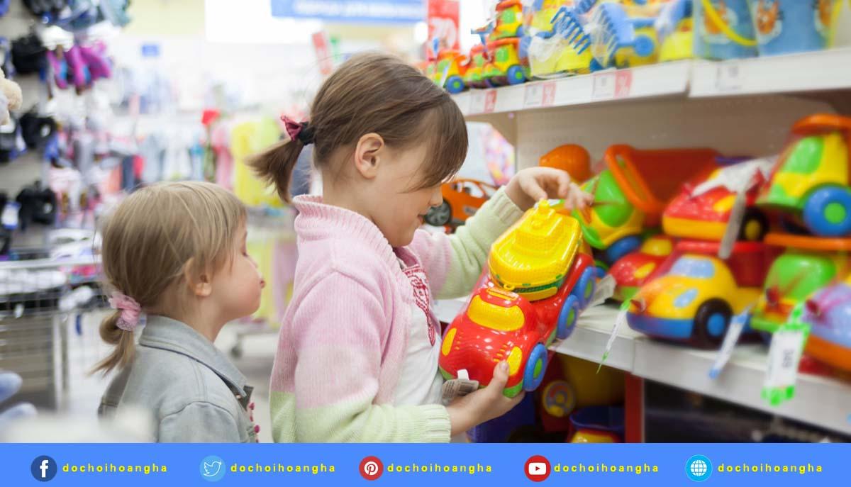 Lưu ý khi chọn đồ chơi cho trẻ mẫu giáo